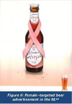 Female targeted beer advertisement